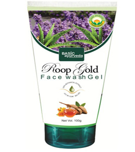 Roop Gold Face Wash Gel