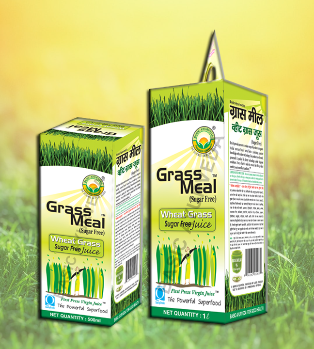 Grass Meal (Wheat Grass) Juice Sugar Free