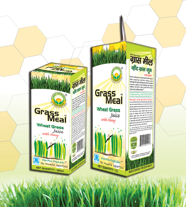 Grass Meal (Wheat Grass) Juice With Honey